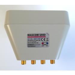 Mascom MBL Quad - 4/2 (Astra3+Astra1) Serie Gold  - 4