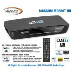 MC650T HD Přijímač DVB-T, USB PVR a MediaPlayer  - 4
