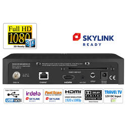 MC280HDIR, HD sat.přijímač,USB PVR, Skylink Ready Irdeto  - 4
