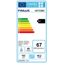 Finlux TV40FFC5660 - T2 SAT HBBTV SMART WIFI SKYLINK LIVE-  - 4