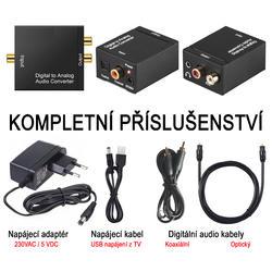 DAC 01-LT, Adaptér dig.audio na analog. sluchátka  - 4