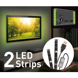 USB LED osvětlení pro televizory, barevné  - 4