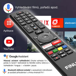 Finlux TV50FUF7070 - ANDROID HDR UHD, T2 SAT HBBTV WIFI SKYLINK LIVE -  - 4