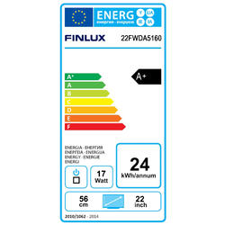 Finlux TV22FWDA5160 - T2 SAT DVD SMART HBBtv-  - 5