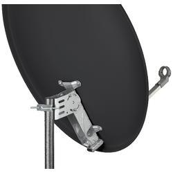 Sat.antena 80cm, hliník, antracit, zadní držák ocel. 15015308, Krabička : 57845325  - 5