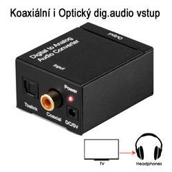 DAC 01-LT, Adaptér dig.audio na analog. sluchátka  - 5