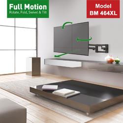 """Barkan 464XL - 4 pohybový extra prodloužený do 600x400mm, pro TV 13""""-80"""" (33-203cm), do 50kg  - 5"""