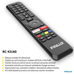 Finlux TV50FUF7070 - ANDROID HDR UHD, T2 SAT HBBTV WIFI SKYLINK LIVE -  - 5