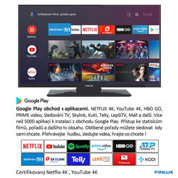 Finlux TV43FUF7070 - ANDROID HDR UHD, T2 SAT HBBTV WIFI SKYLINK LIVE -  - 5
