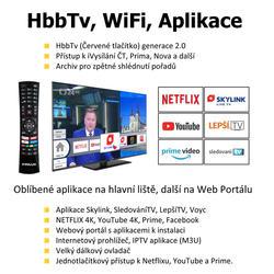 Finlux TV55FUF8260 -  HDR UHD T2 SAT WIFI SKYLINK LIVE-  - 4