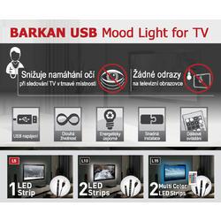 USB LED osvětlení pro televizory  - 6
