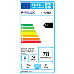 Finlux TV43FUB8061 - UHD SAT/T2 SMART WIFI  - 6