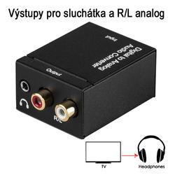 DAC 01-LT, Adaptér dig.audio na analog. sluchátka  - 6