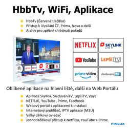 Finlux TV24FWE5760 - ULTRATENKÁ  T2 SAT WIFI SKYLINK LIVE-  - 6