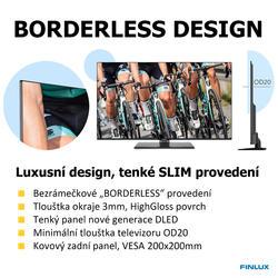 Finlux TV55FUF8260 -  HDR UHD T2 SAT WIFI SKYLINK LIVE-  - 5