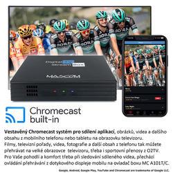 MC A101T/C,Android TV 10.0,DVB-T2, 4K HDR, Ovladač s TV Control  - 6