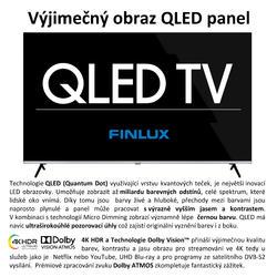 Finlux TVF65FUF9060 - QLED HDR UHD T2 SAT WIFI SKYLINK LIVE BEZRÁMOVÁ-  - 6