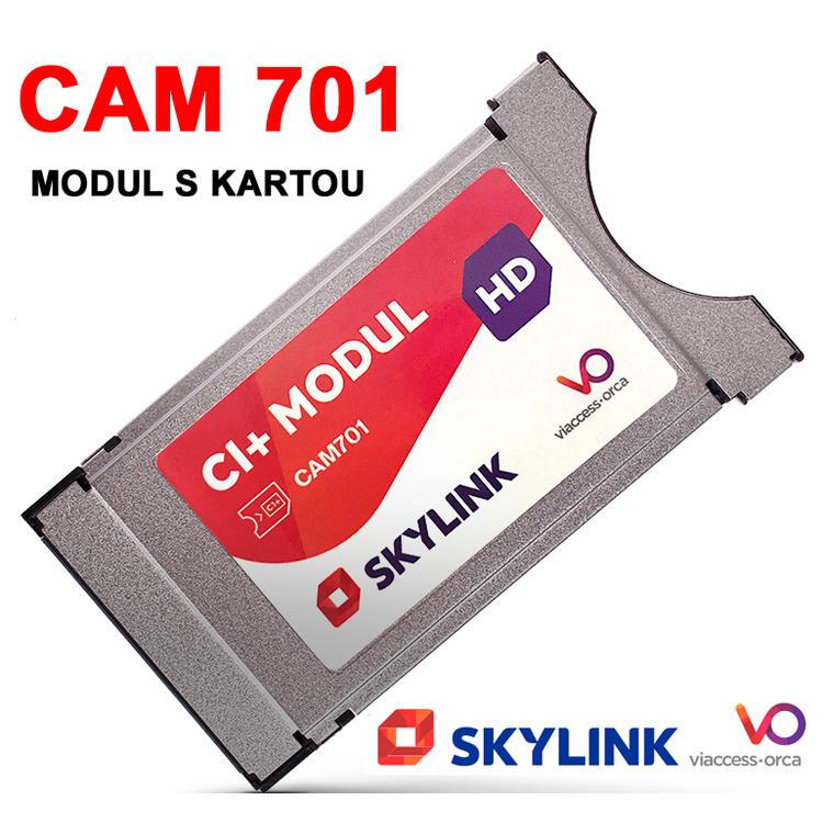 Skylink CAM-701 s kartou